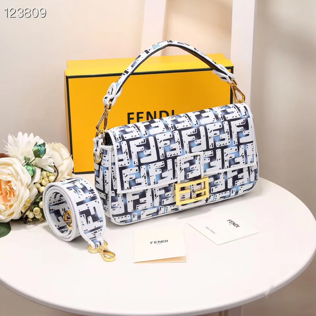 FENDI fabric bag 8BR600 white