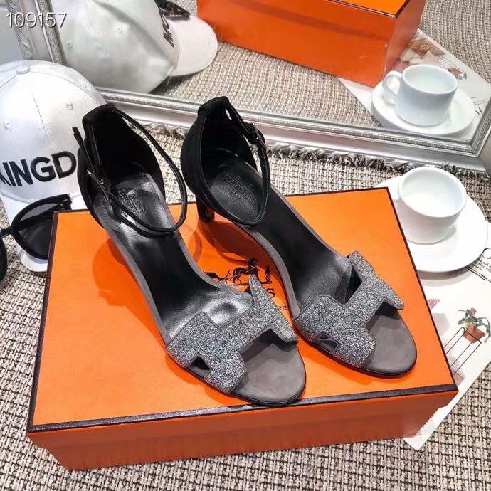 Hermes Shoes HO854HX-3 Heel height 6CM