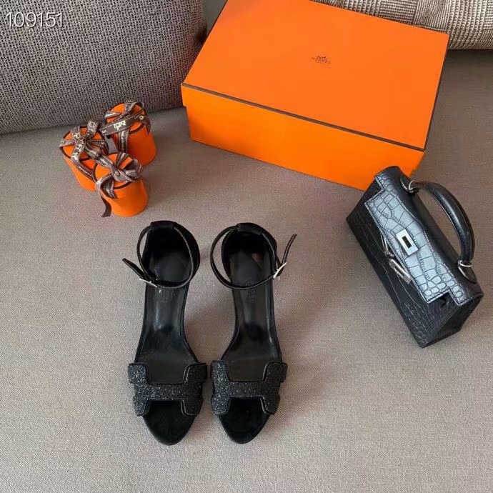 Hermes Shoes HO855HX-3 Heel height 6CM
