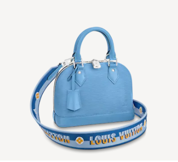 Louis Vuitton ALMA ALMA BB M57426 Bleuet Blue