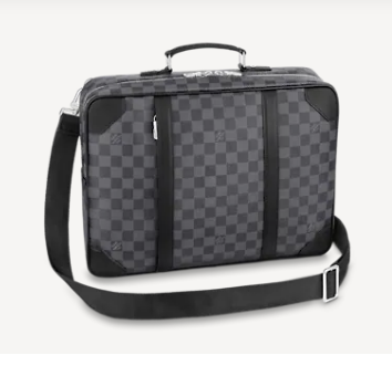 Louis Vuitton BRIEFCASE BACKPACK N50051 black