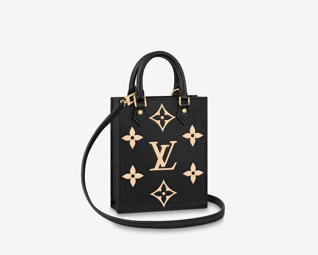 Louis vuitton SINCE 1854 PETIT SAC PLAT M80449 Black
