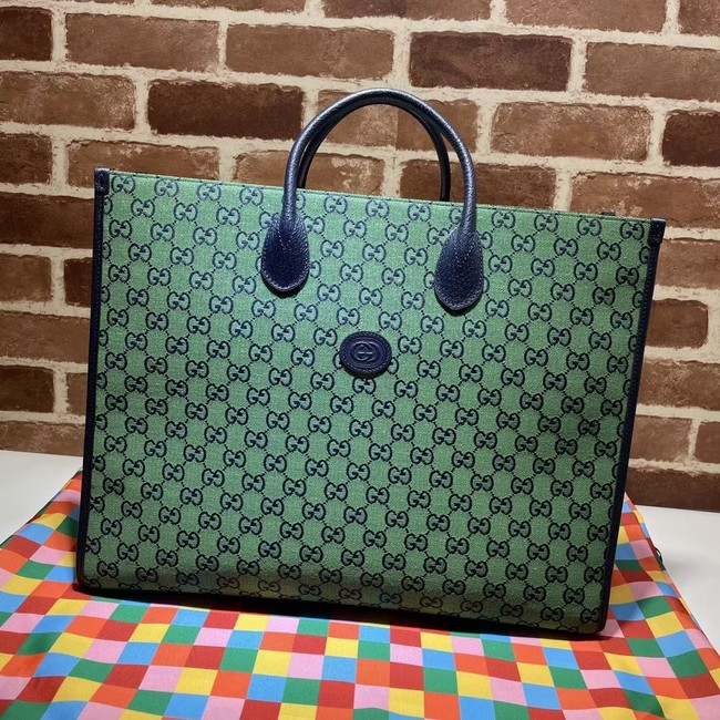Gucci GG shopping bag 659980 green