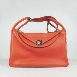 Hermes Lindy 34CM Shoulder Bag 6208 Orange
