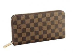 Louis Vuitton Wallets Damier Canvas Zippy Organizer N60003