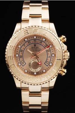 Rolex Yacht-Master II Golden Surface Watch-RY3336
