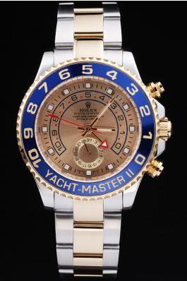 Rolex Yacht-Master II Blue&Golden Watch-RY3334