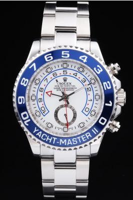 Rolex Yacht-Master II Blue&White Surface Watch-RY3342