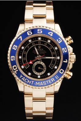 Rolex Yacht-Master II Blue Bezel&Black Surface Watch-RY3338