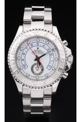 Rolex Yacht-Master II Cutwork Stainless Steel Watch-RY3898