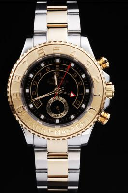 Rolex Yacht-Master II Golden Bezel&Black Surface Watch-RY3329