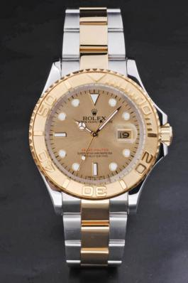 Rolex Yacht-Master II Golden Surface Cutwork Men Watch-RY3901