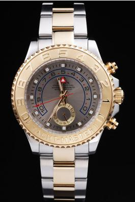 Rolex Yacht-Master II Golden Surface Men Watch-RY3330