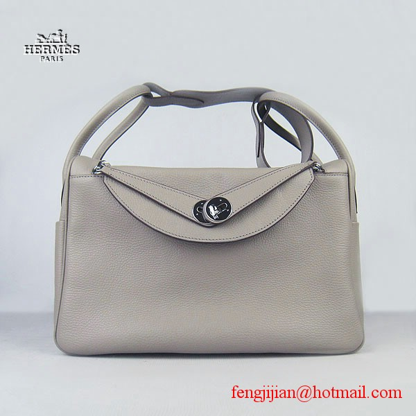 Hermes Women Shoulder Bag Grey 6208