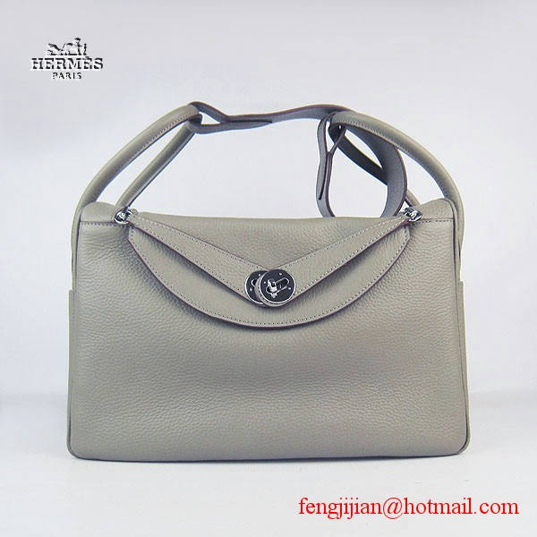 Hermes Women Shoulder Bag Khaki 6208