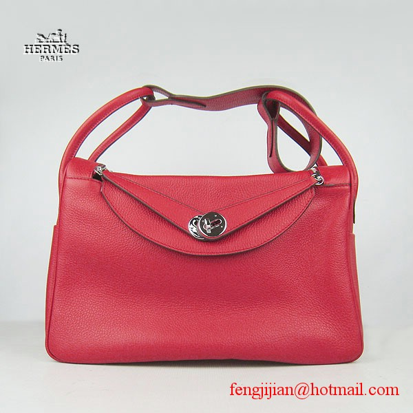 Hermes Women Shoulder Bag Red 6208