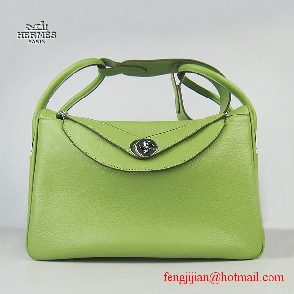 Hermes Women Shoulder Bag Green 6208