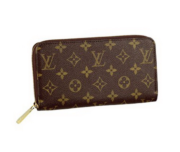 Louis Vuitton Monogram Canvas Zippy Wallet M60002