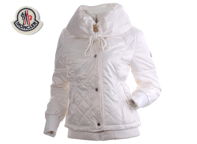 Moncler Womens Jacket White
